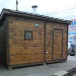 Мобильная баня 2,2х3,8м